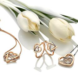 Obrázek è. 4 k produktu: Støíbrný náramek Hot Diamonds Adorable Rose Gold DL577
