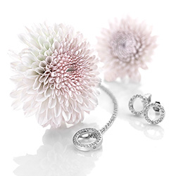 Obrázek è. 4 k produktu: Støíbrné náušnice Hot Diamonds Love DE534