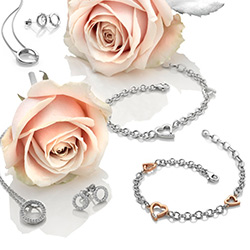Obrázek è. 6 k produktu: Støíbrné náušnice Hot Diamonds Love DE534