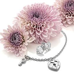 Obrázek č. 5 k produktu: Stříbrné náušnice Hot Diamonds Love DE527