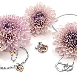 Obrázek è. 6 k produktu: Støíbrný prsten Hot Diamonds Love DR195