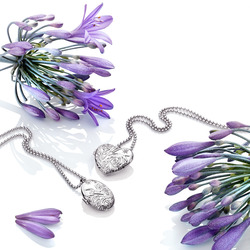 Obrázek č. 1 k produktu: Stříbrný náhrdelník Hot Diamonds Memories Locket DP773