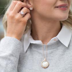 Obrázek è. 14 k produktu: Støíbrný prsten Hot Diamonds Emozioni Riflessi Rose Gold