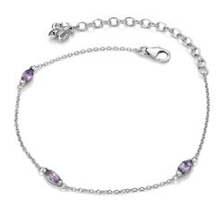 Obrázek è. 2 k produktu: Náramek Hot Diamonds Anais Ametyst AB002