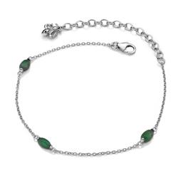 Obrázek è. 2 k produktu: Náramek Hot Diamonds Anais zelený Aventurín AB003