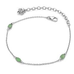 Obrázek è. 2 k produktu: Náramek Hot Diamonds Anais zelený Avanturín AB003