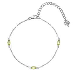 Náramek Hot Diamonds Anais Peridot AB008