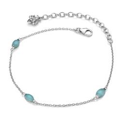 Obrázek č. 1 k produktu: Náramek Hot Diamonds Anais modrý achát AB009