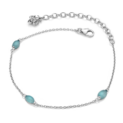 Obrázek è. 2 k produktu: Náramek Hot Diamonds Anais modrý achát AB009