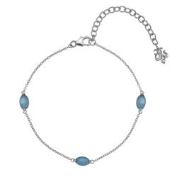 Obrázek è. 4 k produktu: Náramek Hot Diamonds Anais modrý achát AB009
