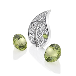 Pøívìsek Hot Diamonds Anais element zemì Peridot AC100