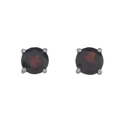 Støíbrné náušnice Hot Diamonds Anais Granát AE001