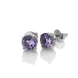 Obrázek č. 1 k produktu: Stříbrné náušnice Hot Diamonds Anais Ametyst AE002