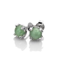 Obrázek č. 1 k produktu: Stříbrné náušnice Hot Diamonds Anais zelený Aventurín AE003