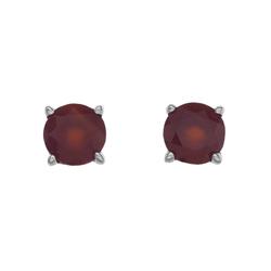 Støíbrné náušnice Hot Diamonds Anais Karneol AE007