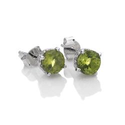 Obrázek è. 2 k produktu: Støíbrné náušnice Hot Diamonds Anais Peridot AE008
