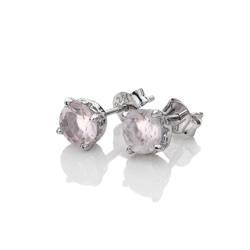 Obrázek č. 1 k produktu: Stříbrné náušnice Hot Diamonds Anais růžový křemen AE010