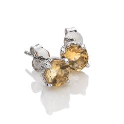 Obrázek è. 2 k produktu: Støíbrné náušnice Hot Diamonds Anais Citrin AE011