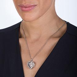 Obrázek è. 6 k produktu: Pøívìsek na elementy Hot Diamonds Anais srdce AL012