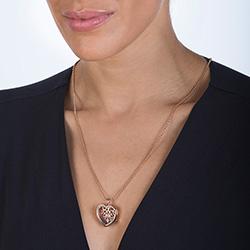 Obrázek è. 6 k produktu: Pøívìsek na elementy Hot Diamonds Anais srdce RG AL013