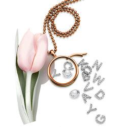 Obrázek č. 1 k produktu: Přívěsek Hot Diamonds Abeceda Anais element EX230