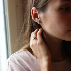 Obrázek è. 8 k produktu: Støíbrný prsten Hot Diamonds Eternity Vermeil