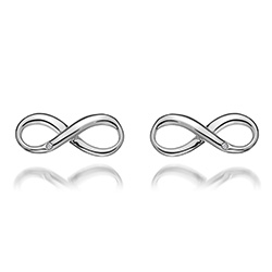 Støíbrné náušnice Hot Diamonds Infinity