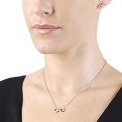 Obrázek è. 6 k produktu: Støíbrné náušnice Hot Diamonds Infinity