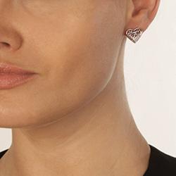 Obrázek è. 6 k produktu: Støíbrné náušnice Hot Diamonds Luxury DE530