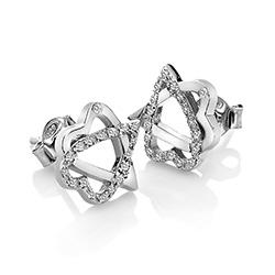 Obrázek è. 2 k produktu: Støíbrné náušnice Hot Diamonds Adorable DE550