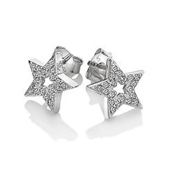 Obrázek è. 2 k produktu: Støíbrné náušnice Hot Diamonds Star Micro Bliss DE554
