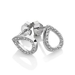 Obrázek è. 2 k produktu: Støíbrné náušnice Hot Diamonds Teardrop Micro Bliss DE555