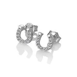 Obrázek è. 2 k produktu: Støíbrné náušnice Hot Diamonds Horseshoe Micro Bliss DE556