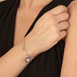 Obrázek è. 4 k produktu: Støíbrný náramek Hot Diamonds Love DL561
