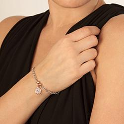 Obrázek è. 4 k produktu: Støíbrný náramek Hot Diamonds Luxury DL562