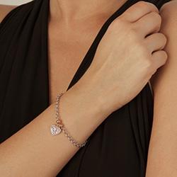 Obrázek è. 4 k produktu: Støíbrný náramek Hot Diamonds Luxury DL563