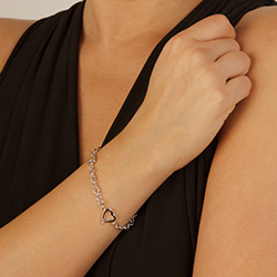 Obrázek è. 4 k produktu: Støíbrný náramek Hot Diamonds Love DL564