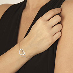 Obrázek è. 2 k produktu: Støíbrný náramek Hot Diamonds Love DL569