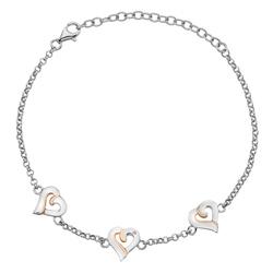 Náramek Hot Diamonds Together RG DL572
