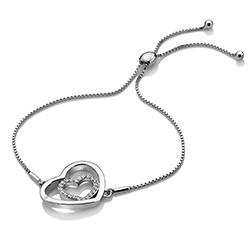 Obrázek è. 2 k produktu: Støíbrný náramek Hot Diamonds Adorable Encased DL574