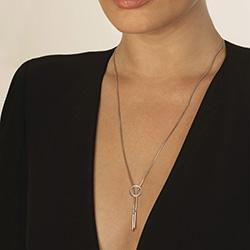 Obrázek è. 4 k produktu: Støíbrný náhrdelník Hot Diamonds Love DN116