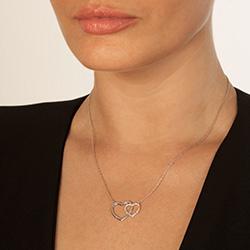 Obrázek č. 2 k produktu: Stříbrný náhrdelník Hot Diamonds Love DN128