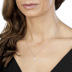 Obrázek è. 2 k produktu: Pøívìsek Hot Diamonds Micro C Clasic DP403