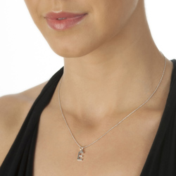 Obrázek è. 2 k produktu: Pøívìsek Hot Diamonds Micro E Clasic DP405