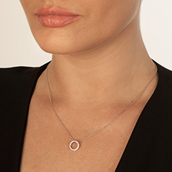 Obrázek è. 4 k produktu: Støíbrný pøívìsek Hot Diamonds Love DP661