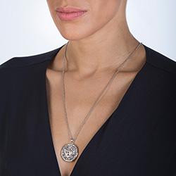 Obrázek è. 4 k produktu: Pøívìsek Hot Diamonds Large Circle Filigree Locket DP665