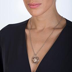 Obrázek č. 5 k produktu: Přívěsek Hot Diamonds Large Circle Filigree Locket RG DP666