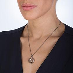 Obrázek è. 4 k produktu: Pøívìsek Hot Diamonds Small Circle Filigree Locket RG DP668
