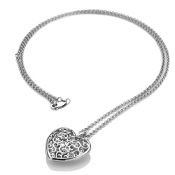 Obrázek è. 2 k produktu: Pøívìsek Hot Diamonds Large Heart Filigree Locket DP669
