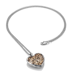 Obrázek è. 2 k produktu: Pøívìsek Hot Diamonds Large Heart Filigree Locket RG DP670
